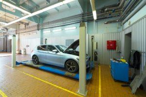 BMW в сервисе