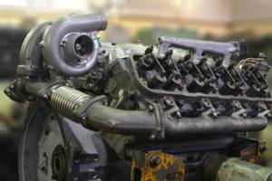 замена неисправной турбины на двигателе